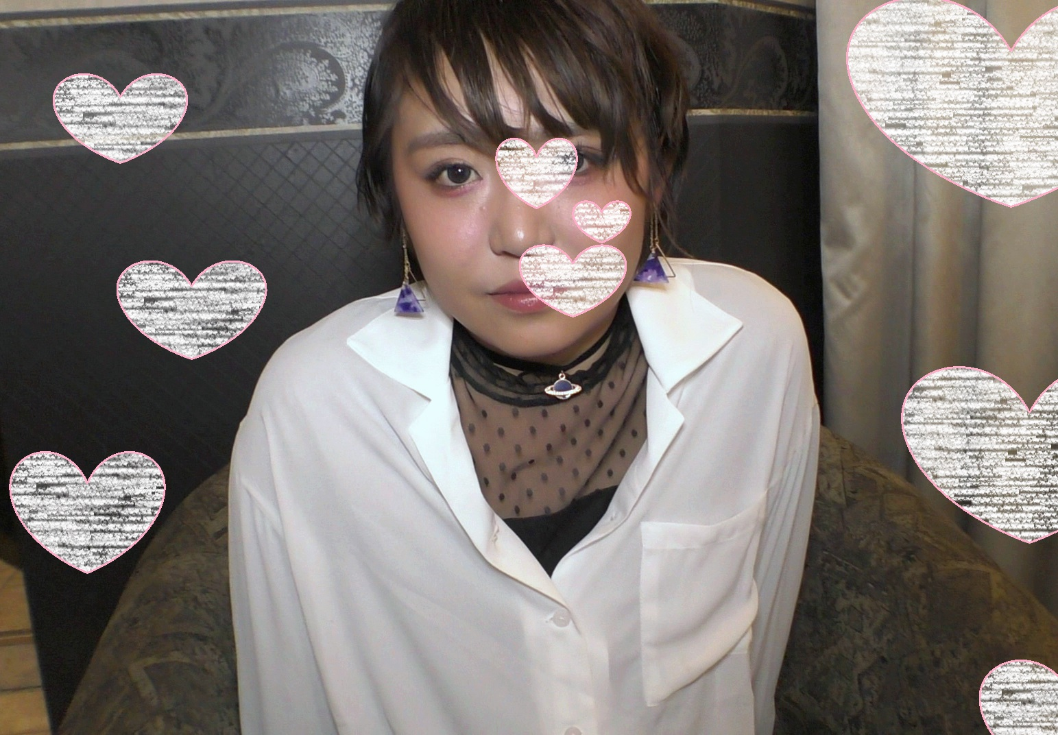 顔出し・絶対的美少女・あん19才・私服で生ハメ中出し・超清楚系ショートカット・03編フェラ編