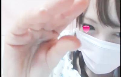 【素人】おすすめハイレベル美〇女オナニー 愛液がねっとりと指の間で糸を引いています。【無修正】