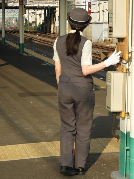 鉄道現業の第一線で働くお姉様写真集<1>